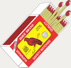 Deluxe Dove Cardboard Matches